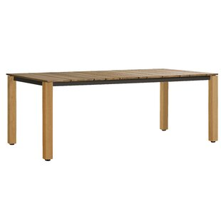 Machar Solid Wood Dining Table by OASIQ