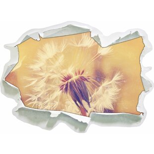 Autumn Dandelion Wall Sticker By East Urban Home