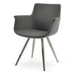 Bottega 24 W Faux Leather Armchair by sohoConcept
