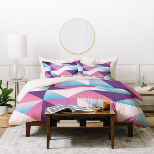 East Urban Home Lara Kulpa 3 Piece Duvet Set