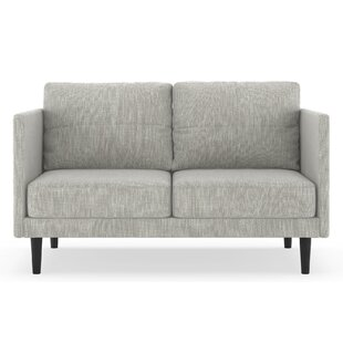 Schiff Twilled Weave Loveseat by Orren Ellis