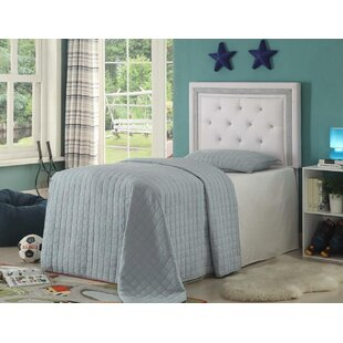 Price Check Sarabia Upholstered Panel Headboard by Harriet Bee