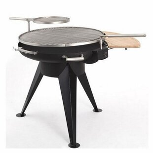 Huge 75cm Cranford Charcoal BBQ Grill & Firepit By Tepro