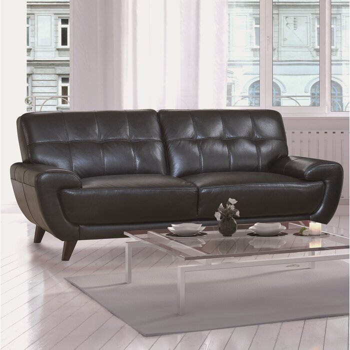 Terrific Sterns Craft Leather Sofa Caraccident5 Cool Chair Designs And Ideas Caraccident5Info