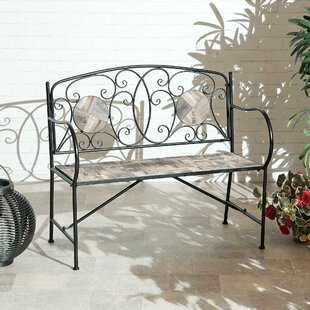 Wendland Metal Traditional Bench By Sol 72 Outdoor