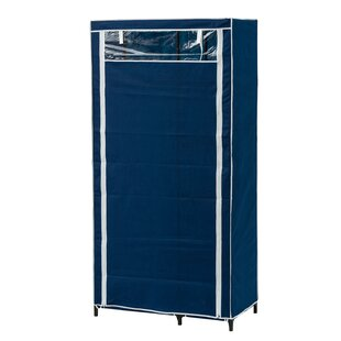 Rodrigues 90cm Wide Portable Wardrobe By Symple Stuff