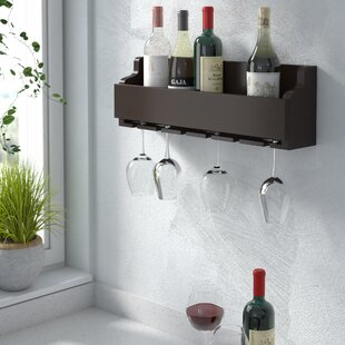 Gonzalez 6 Bottle Wall Mounted Wine Rack ..