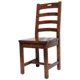 Yorba Linda Solid Wood Ladder Back Side Chair (Set of 2) by Loon Peak®