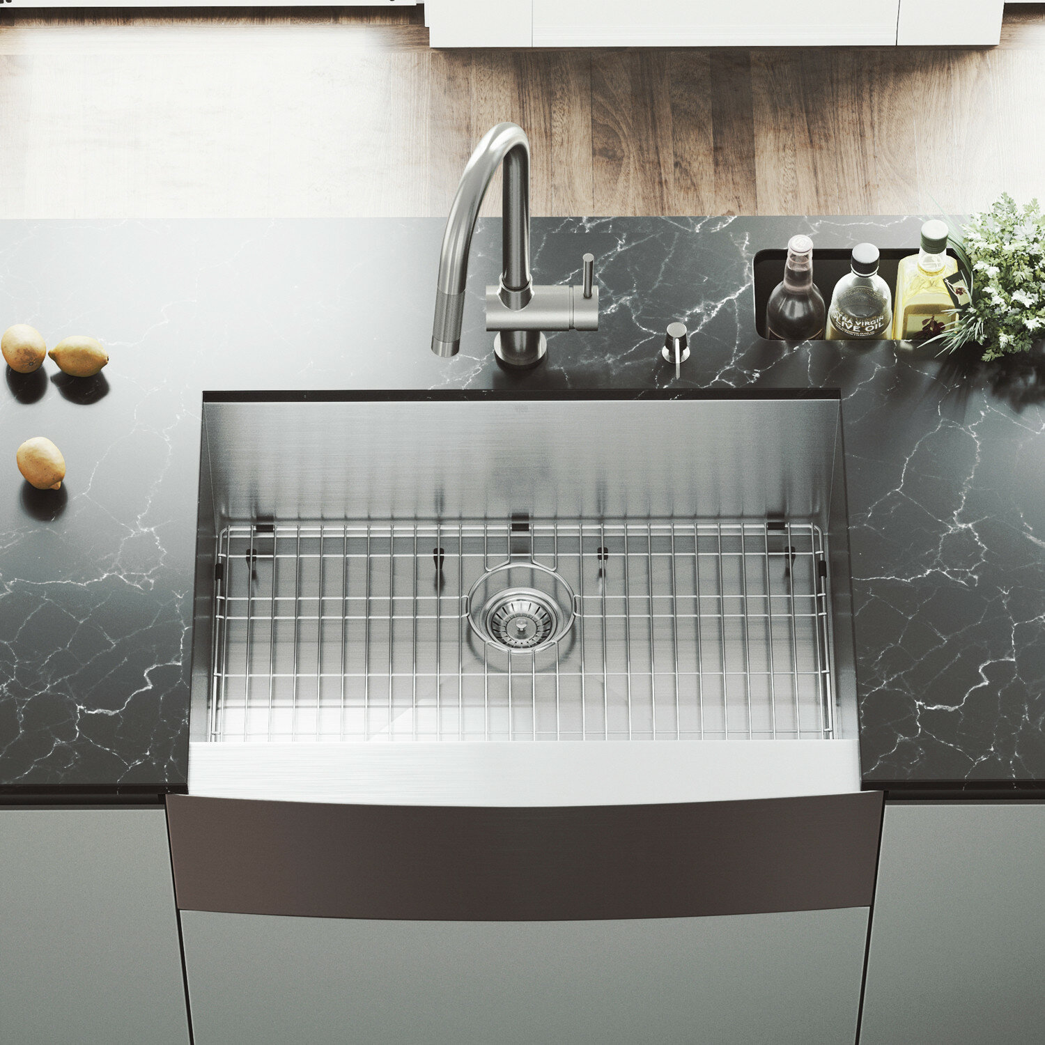 NSF Stainless Steel Hand Sink with Side Splash Renewed Commercial Equipment 12 X 12