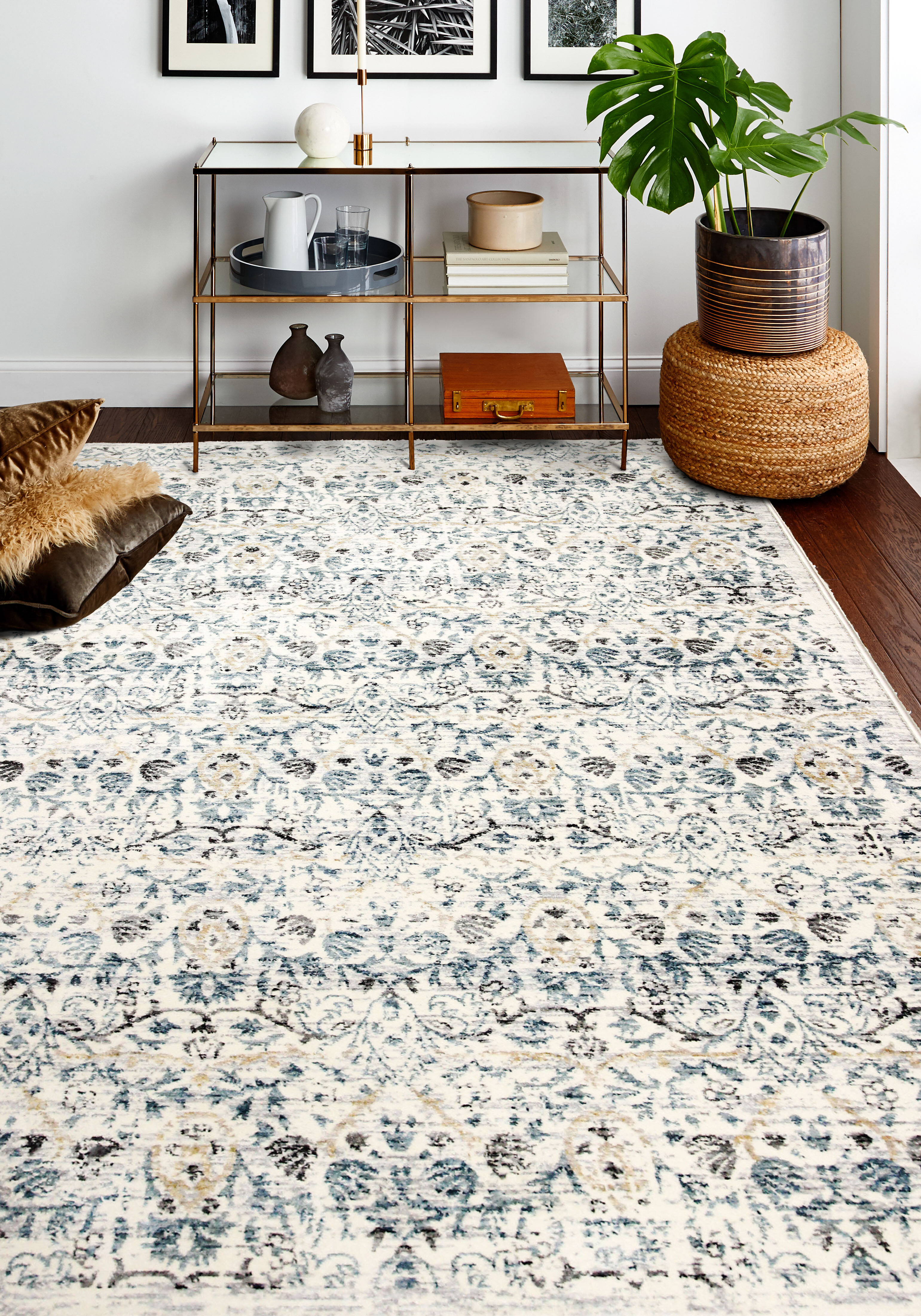 Ivory Cream World Menagerie Area Rugs You Ll Love In 2021 Wayfair