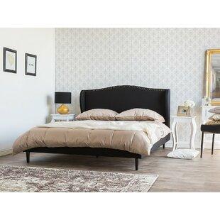 Arvilla European King Size Upholstered Platform Bed