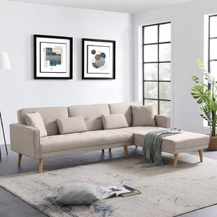 Almeta 15385 Right Hand Facing Reclining Sofa and Chaise by George Oliver