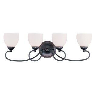 Alcott Hill Whittaker 4-Light Vanity Light