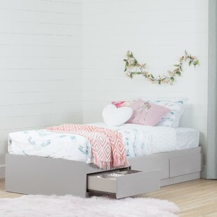 Reevo Twin Bed with 3 Drawers by South Shore