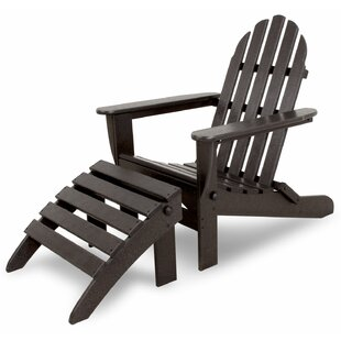 Classics Folding Adirondack with Ottoman