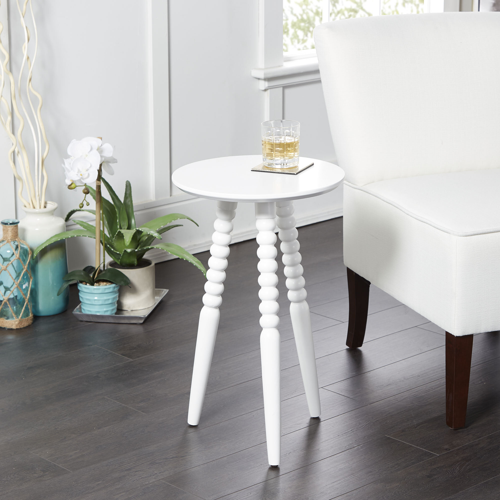 - Canora Grey Breslin Round End Table & Reviews Wayfair