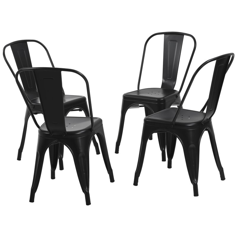 Perdomo Stacking Patio Dining Side Chair