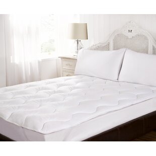 Plush Fleece 4cm Polyester Mattress Topper By Symple Stuff