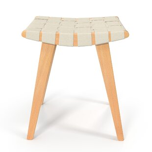 Brookline Weave Accent Stool