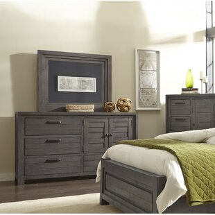 Compare & Buy Saxmundham 4 Drawer Dresser with Mirror by Three Posts
