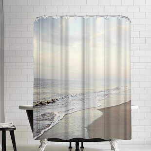 The Gingham Owl Serene Seascape Shower Curtain