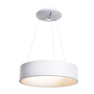 Devery 1-Light Pendant by Orren Ellis
