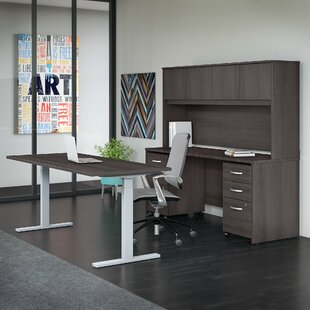 Studio C 5 Piece Desk Office Suite