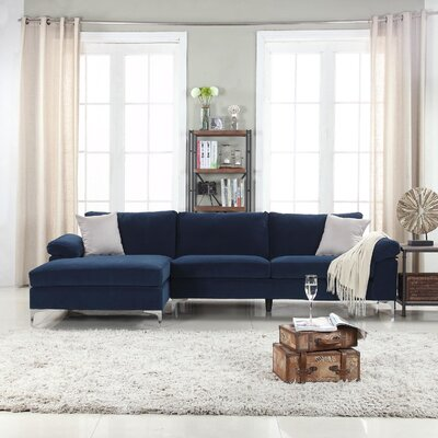 Chaise Sofa Sectionals You Ll Love In 2020 Wayfair