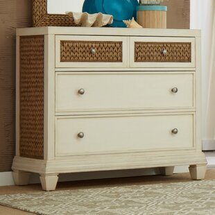 Bridge Hampton Seagrass 3 Drawer Dresser by Panama Jack Home