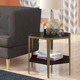 Briggs Geometric End Table by Brayden Studio®