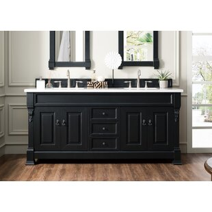 Bedrock 72 Double Bathroom Vanity Set by Darby Home Co