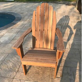 Koch Solid Wood Adirondack Chair by Rosecliff Heights