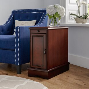 Kipling End Table With Storage DarHome Co