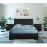 Hindes Upholstered Platform 3 Piece Bedroom Set by Ebern Designs