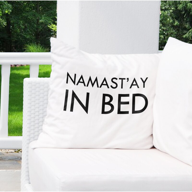 Kavka Namastay In Bed Iv Outdoor Square Cotton Pillow Cover Insert Wayfair