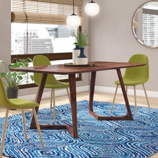 Hartleton Rectangular Dining Table Wade Logan