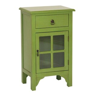 Atchley 1 Drawer Accent Cabinet by Charlton Home
