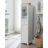 Garces 16.9 W x 64 H x 17 D Free-Standing Linen Tower by Charlton Home