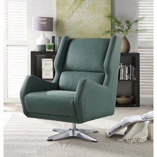 Boerger Swivel Wingback Chair