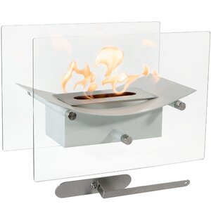 Zen Ventless Bio-Ethanol Tabletop Fireplace