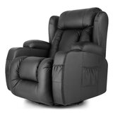 Antrell Faux Leather Manual Glider Recliner with Massage by Latitude Run®