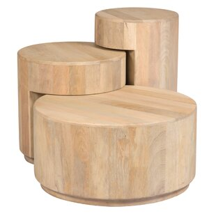 Price comparison Kearney 3 Piece Nesting Tables by Bungalow Rose
