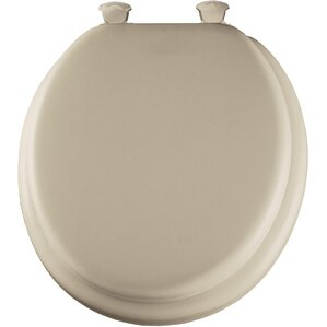 gold plated toilet seat. Delux Soft Round Toilet Seat Cushioned Seats You ll Love  Wayfair