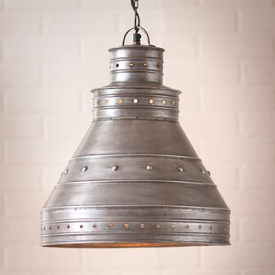 Gracie Oaks Keyes 1-Light Cone Pendant