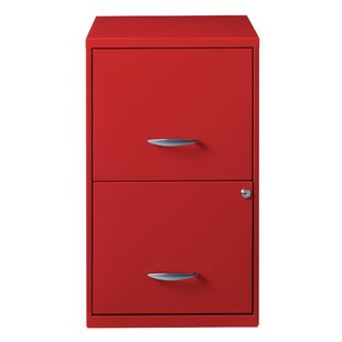 Symple Stuff Zimmer Deep 2-Drawer Vertical Filing Cabinet