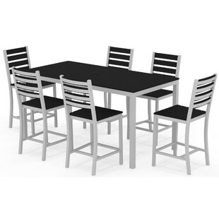 Elan Furniture Loft 7 Piece Bar Height Dining Set