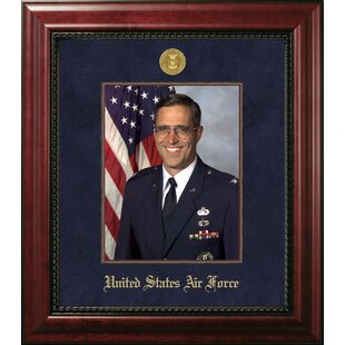 Air Force Portrait Executive Picture Frame By Patriot Frames