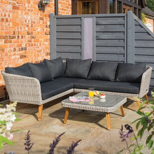 Wycombe 5 Seater Rattan Sofa Set By Sol 72 Outdoor