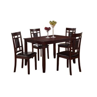 Amot 5 Piece Dining Set by Red Barrel Stu..