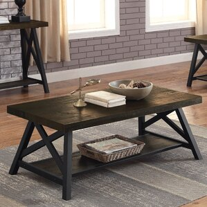 Mayur Industrial Coffee Table by Gracie Oaks
